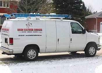 Orangeville electrician Axion Electrical Services