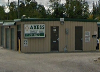 Peterborough storage unit Axxess Storage