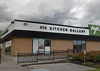 Ajax custom cabinet AyA KITCHEN GALLERY INC.
