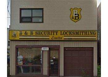 Halifax locksmith B & B Security Locksmithing Ltd.