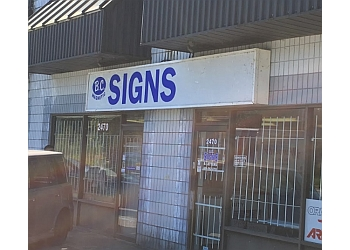 Port Coquitlam sign company BC Magnetic Signs
