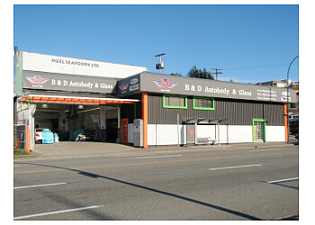 B&D Autobody And Glass Vancouver Auto Body Shops