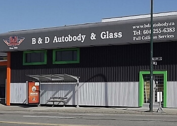 Vancouver auto body shop B&D Autobody And Glass Ltd.
