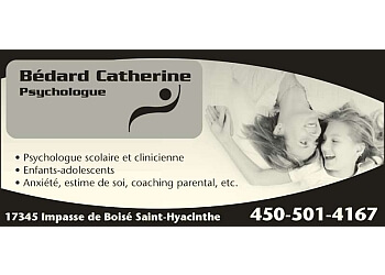 Saint Hyacinthe psychologist BEDARD CATHERINE PSYCHOLOGUE