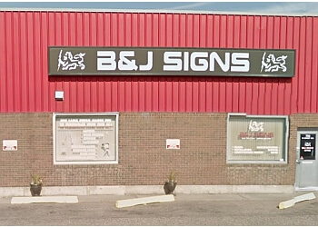 Medicine Hat sign company B & J Signs