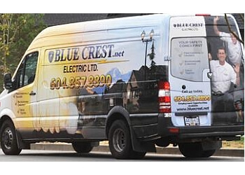 Abbotsford electrician BLUE CREST ELECTRIC LTD.