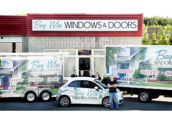 Halton Hills window company BUY WISE WINDOWS & DOORS