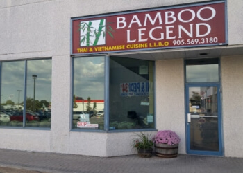 Mississauga thai restaurant Bamboo Legend