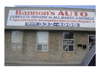 Burlington car repair shop Bannon's Auto