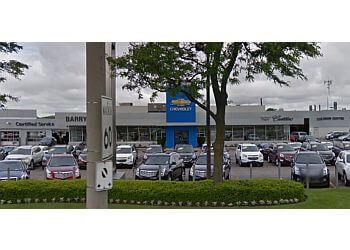 Guelph car dealership Barry Cullen Chevrolet Cadillac