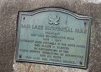 Orillia hiking trail Bass Lake Provincial Park Trail