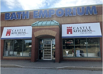 Markham custom cabinet Bath Emporium & Castle Kitchens
