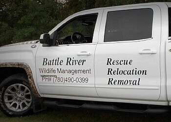 Edmonton animal removal Battle River Wildlife Management Inc.