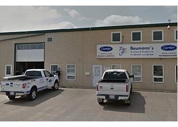 Medicine Hat plumber Baumann's Ventilation & Plumbing Ltd.