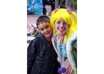 Burlington face painting Beebop The Clown & Friends