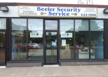 Halifax locksmith Beeler Security Service