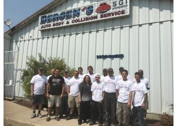 Regina auto body shop Bergen's Auto Body & Collision Centre