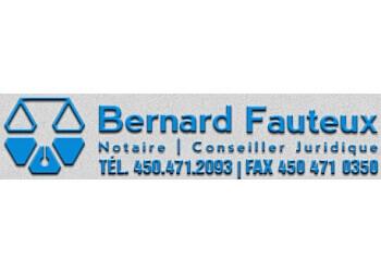 Terrebonne notary public  Bernard Fauteux