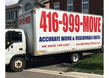 Milton moving company Best Way To Move Ltd.