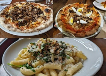 Montreal pizza place Bevo Bar + Pizzeria