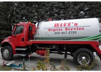 Winnipeg septic tank service Biffs Septic