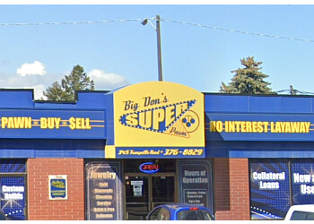 Kamloops pawn shop Big Don's Super Pawn