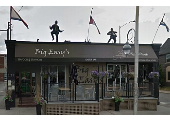 Ottawa seafood restaurant Big Easy's Seafood and Steak House