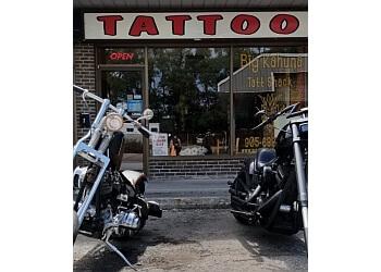 Burlington tattoo shop Big Kahuna Tatt Shack