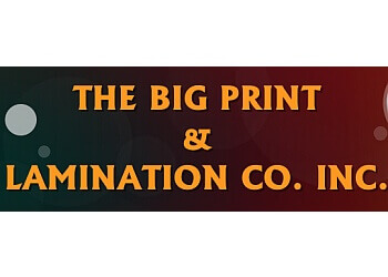 Huntsville printer BIG PRINT & LAMINATION CO. INC.