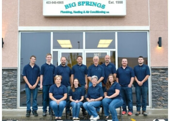 Airdrie hvac service Big Springs Plumbing Heating & Air Conditioning Ltd.