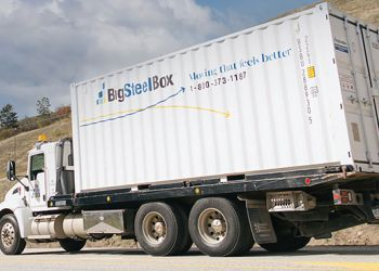 Prince George moving company BigSteelBox