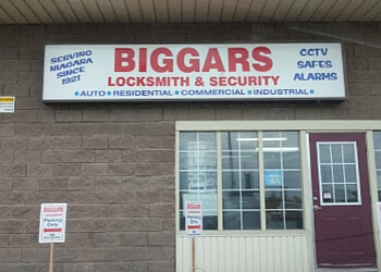 Niagara Falls locksmith Biggar's Locksmith