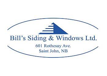 Saint John window company Bill's Siding & Windows