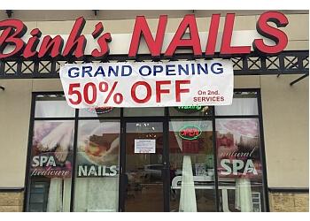 Sherwood Park nail salon Binh's Nails
