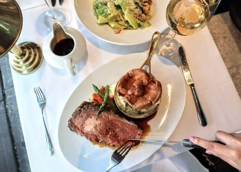 Vancouver steak house Black+Blue