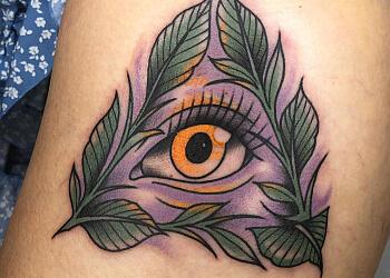Orillia tattoo shop Black Dog Tattoo