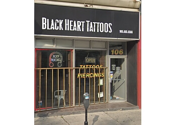 Whitby tattoo shop Black Heart Tattoos LTD