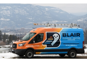 Kelowna plumber Blair Plumbing, Heating and Air Conditioning