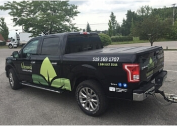 Kitchener lawn care service Blessed Landscaping