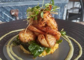 Richmond seafood restaurant Blue Canoe Waterfront Restaurant