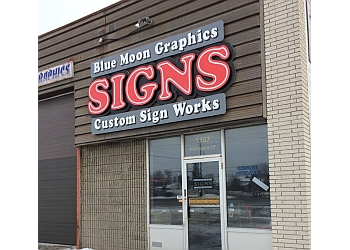 Sudbury sign company Blue Moon Graphics and Custom Sign Works Inc.