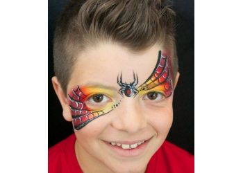 Sherwood Park face painting Bluebird Face Painting
