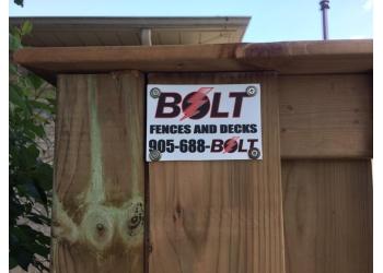 Welland fencing contractor Bolt Fences and Decks