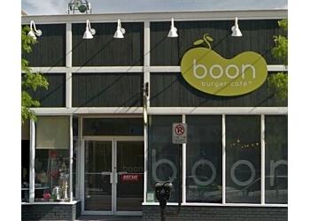 Barrie vegetarian restaurant Boon Burger Cafe