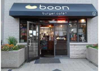 Burlington vegetarian restaurant Boon Burger Cafe