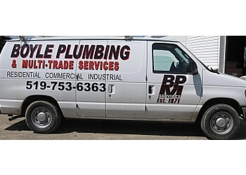 Brantford plumber Boyle Plumbing & Heating Co. Ltd.