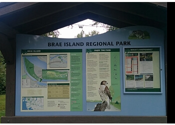 Langley hiking trail Brae Island Regional Park Trail