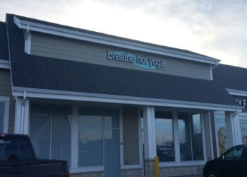 Airdrie yoga studio Breathe Hot Yoga