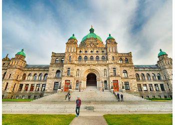 Victoria landmark British Columbia Parliament Buildings