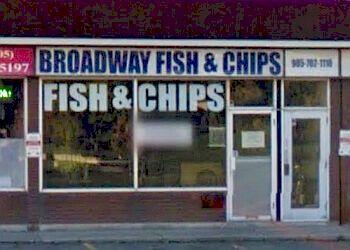 Halton Hills fish and chip Broadway Fish & Chips
